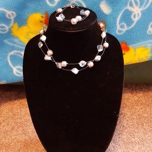 Jewelry - Necklace and bracelet